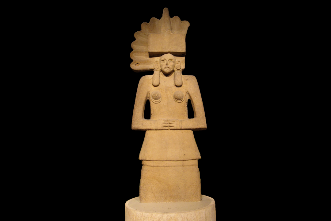 Photo: Huaxtec female deity, Tlazolteotl. Ethno. Q 89 Am 3.1. British Museum. by Ophelia Summers. Tlazolteotl is the Aztec goddess of filth and purification.